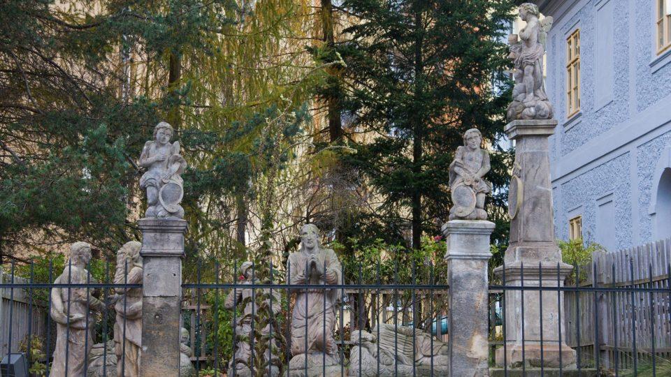 Sousoší Getsemanské zahrady z roku 1829