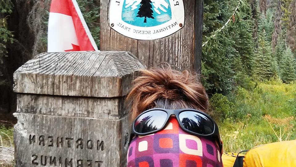 Monika Benešová, Pacific crest trail