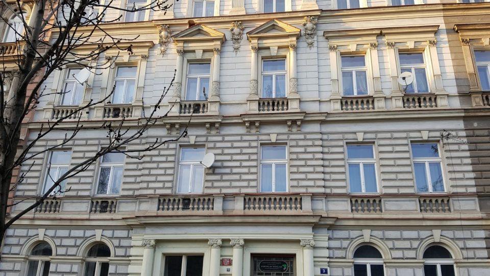 Foglarův rodný dům v Benátské ulici číslo 3
