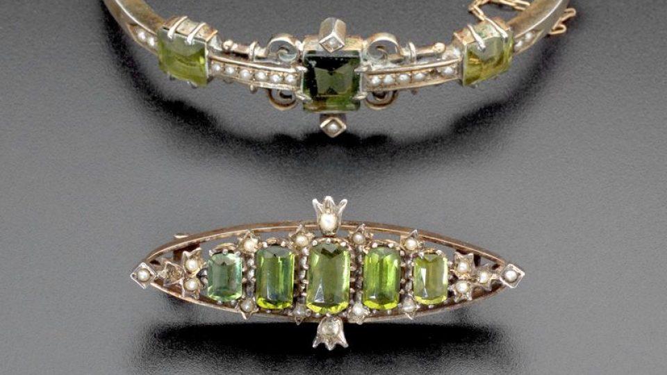 šperky Rudolfa Emila Langera jsou k vidění i v Uměleckoprůmyslovém muzeu v Praze