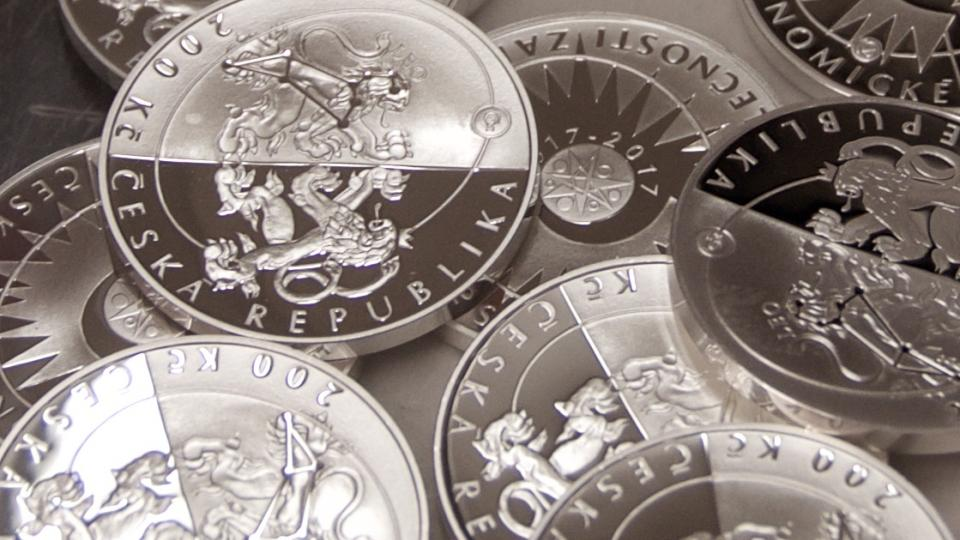 Pamětní mince ke 100. výročí ČAS