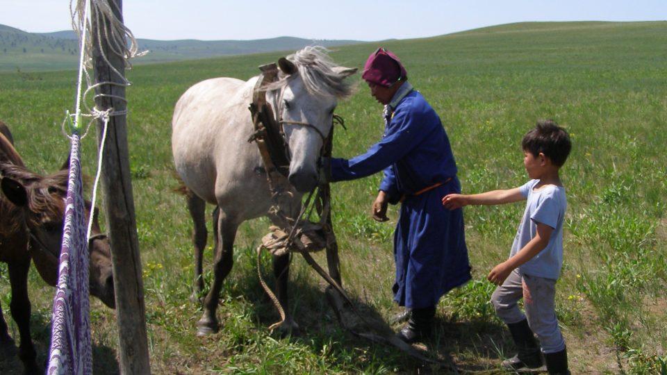 Cesty za vodou: Mongolsko