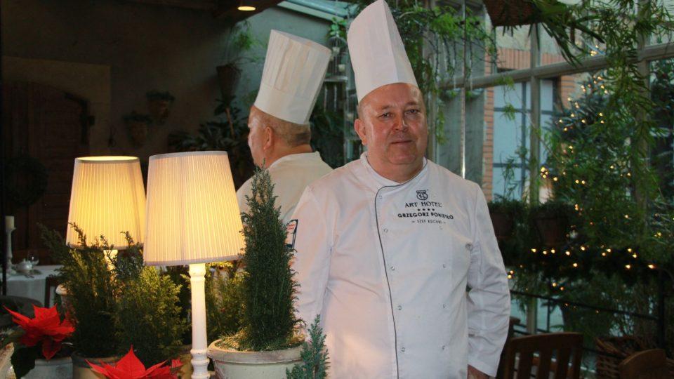 Šéfkuchař Grzegorz Pomietlo