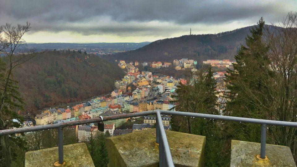 Výhled na historické centrum města