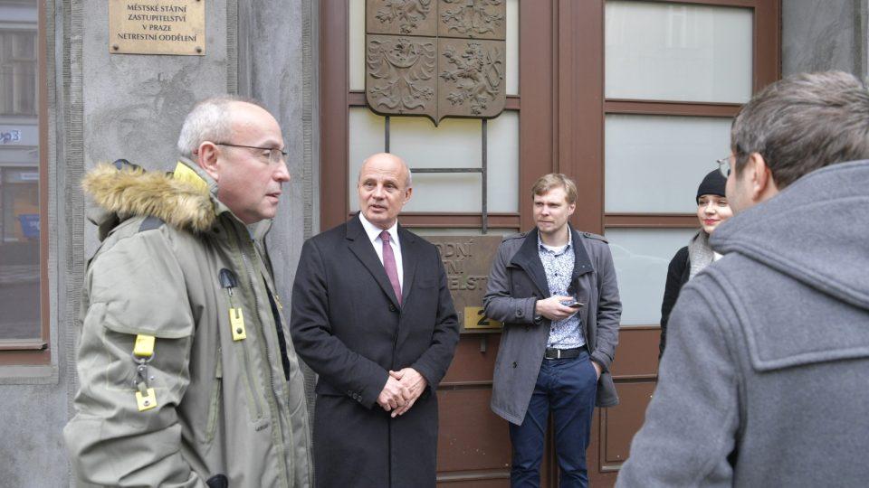 Michal Horáček podává trestní oznámení na poslance KSČM Zdeňka Ondráčka za pomluvu.