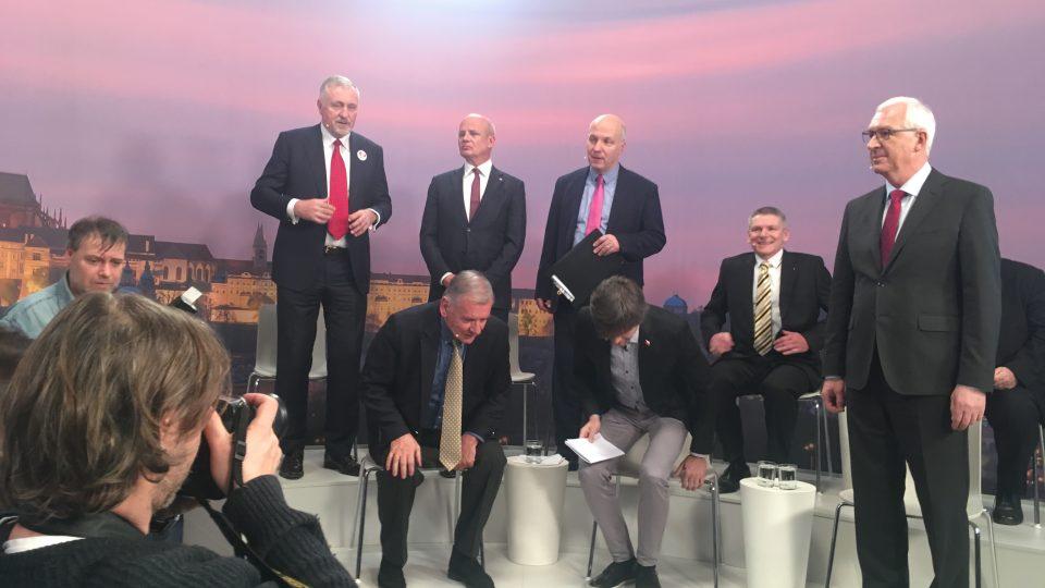 Michal Horáček na debatě v Blesku