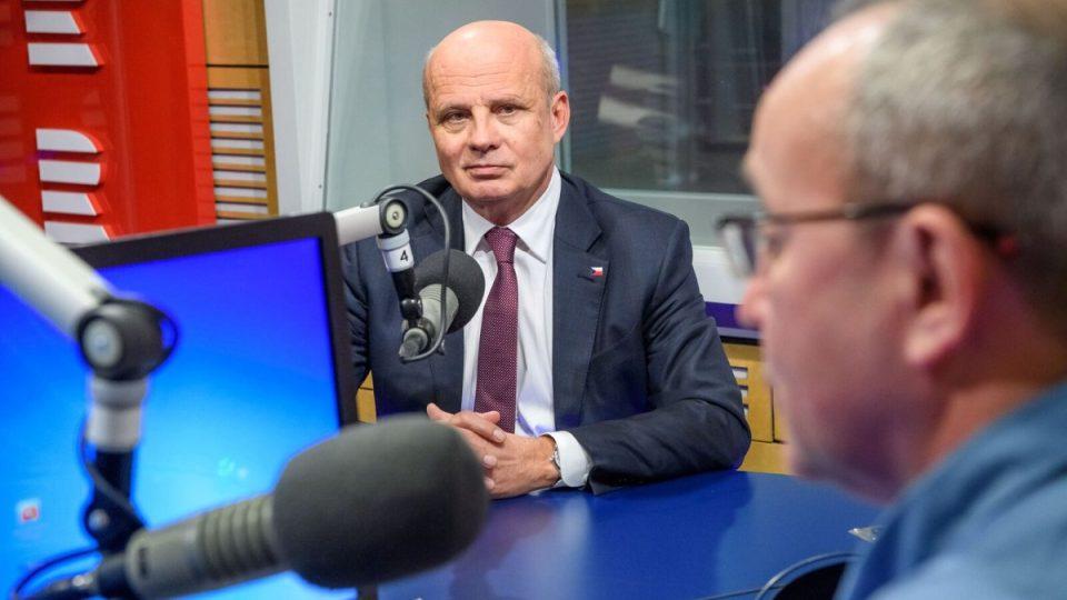 Michal Horáček ve Dvaceti minutách Radiožurnálu