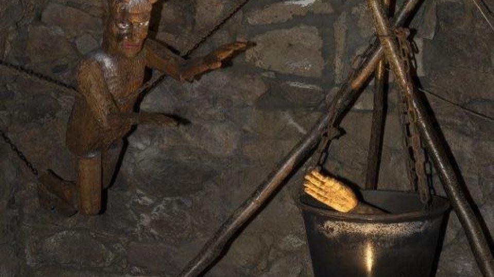 Údajně se tu vaří ruka jednoho strmilovského vandala