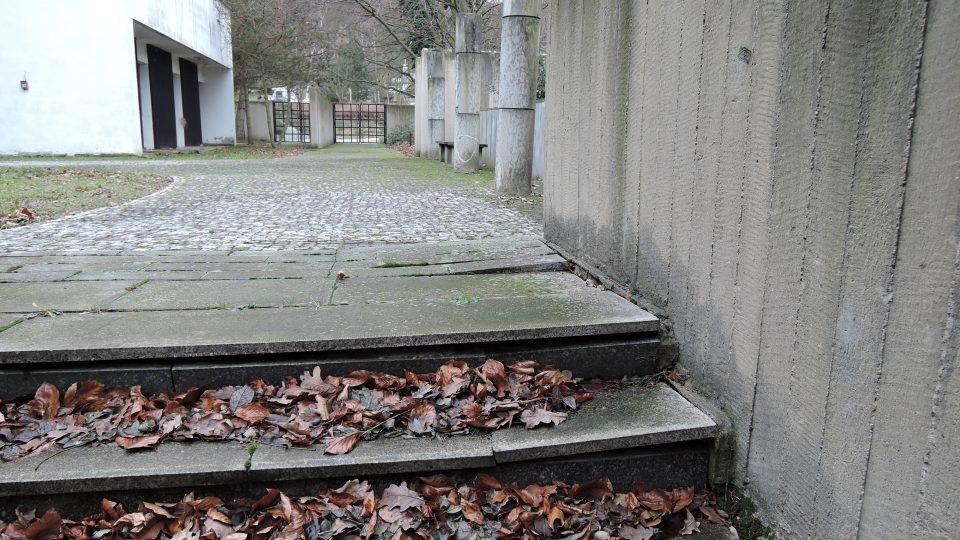 Ústecké krematorium na začátku roku 2018