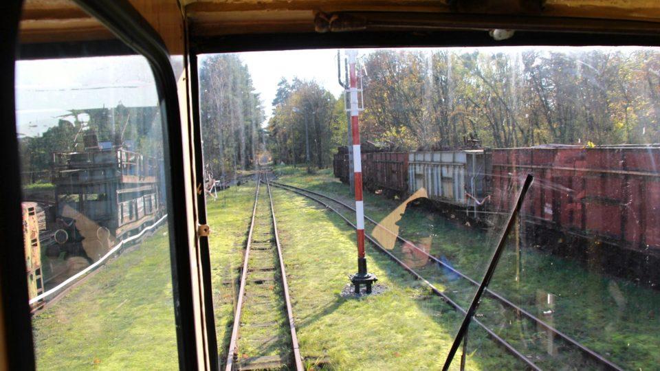 Vyrážíme na trať v dieslové lokomotivě