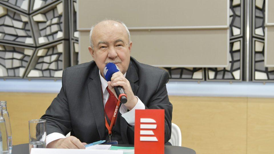Petr Hannig - předvolební debata kandidátů na prezidenta (12. ledna 2018)