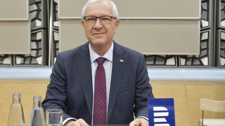 Jiří Drahoš - předvolební debata kandidátů na prezidenta (12. ledna 2018)