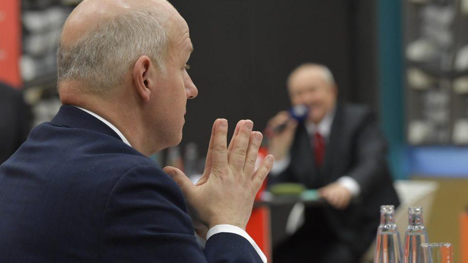 Předvolební debata kandidátů na prezidenta (12. ledna 2018)