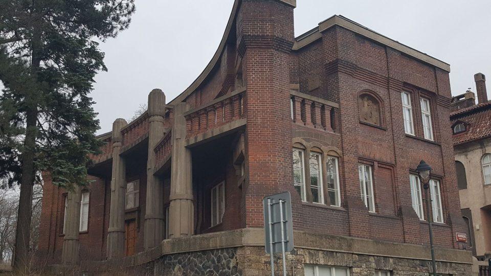 Bílkova vila na Hradčanech