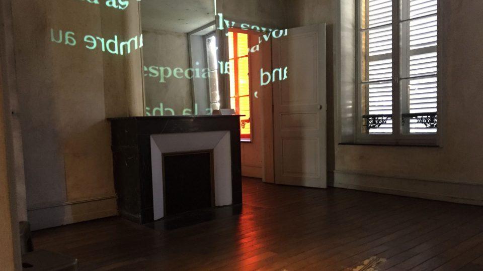 Pokoj Arthura Rimbauda v jeho rodném městě Charleville