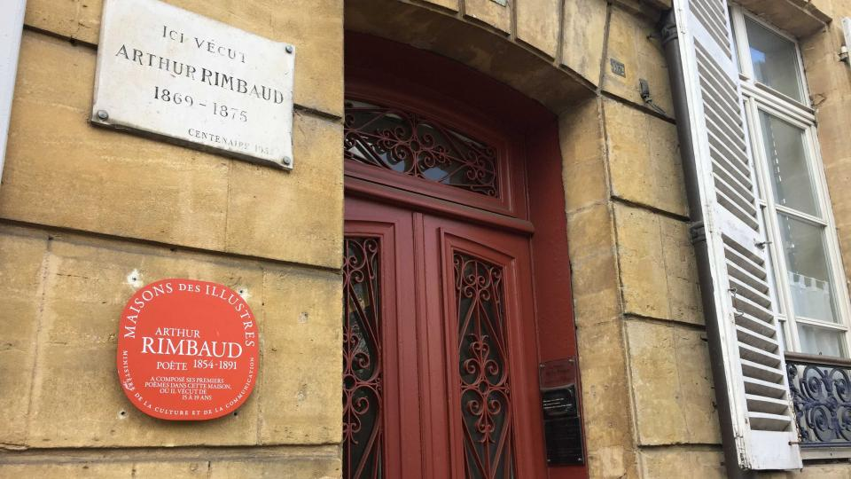Dům, kde Arthur Rimbaud bydlel