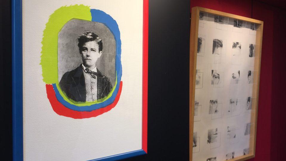 Portrét mladého Arthura Rimbauda v jeho muzeu