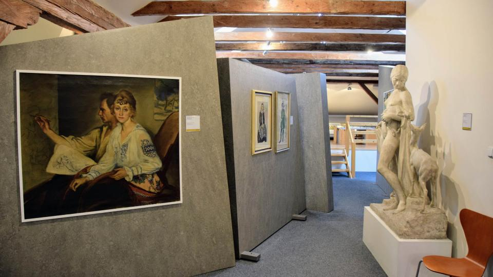 Podkroví frenštátského muzea