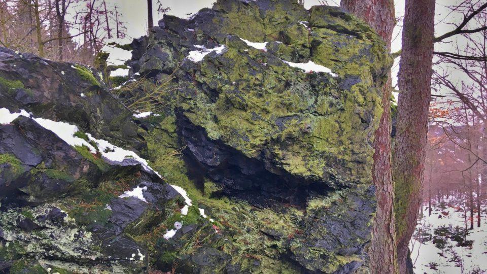 Zdejší horninou je buližník