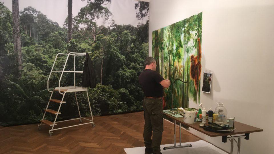 Jedna místnost bude patřit orangutanovi Ňuňákovi, který musel být v listopadu kvůli nemoci utracen