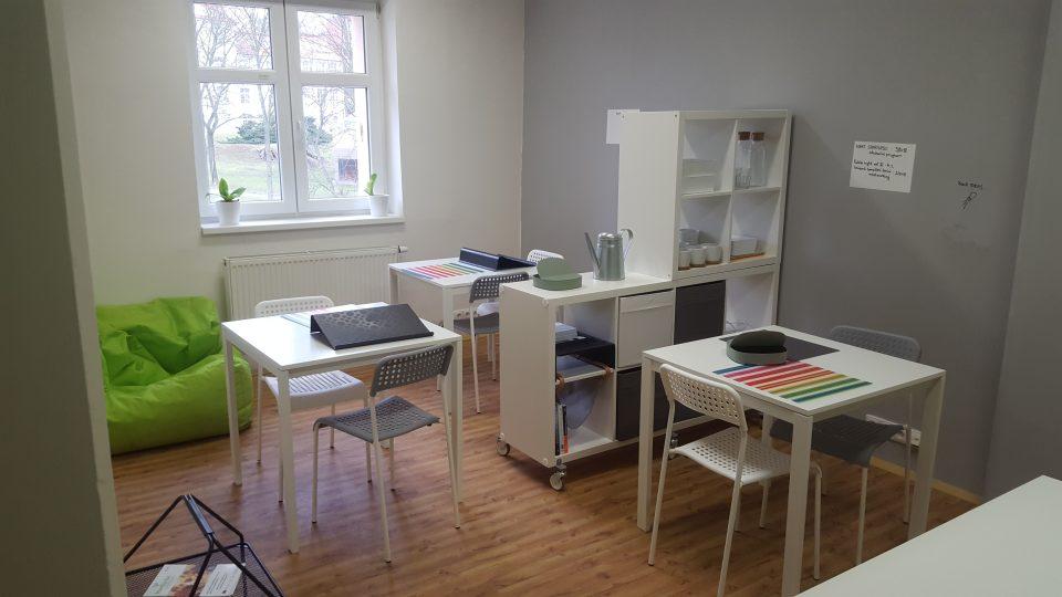 Coworkingové centrum v kampusu ústecké univerzity
