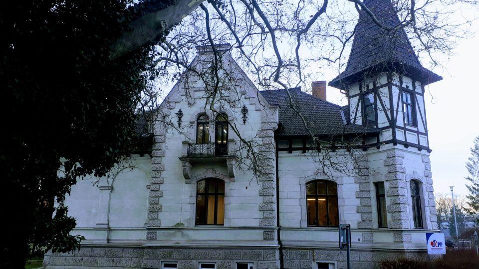 Secesní vila Tereza na ostravské Černé louce je bývalým sídlem rodiny Strassmannů