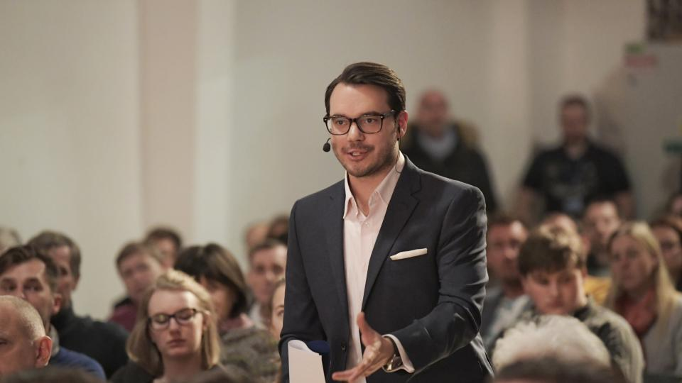 Moderátor Michael Rozsypal