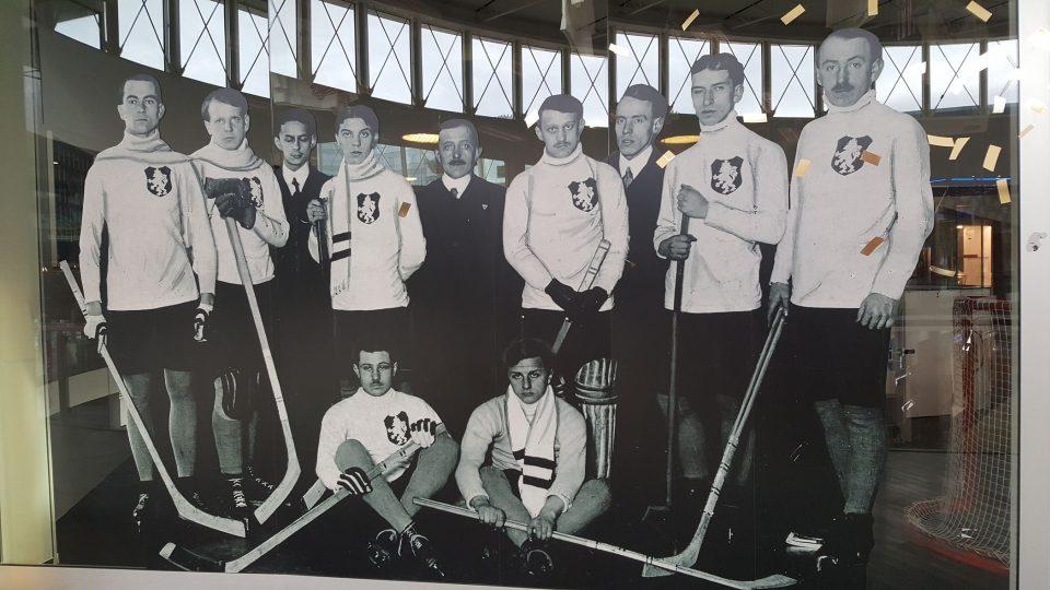 Najdete tu informace o hokeji u nás od založení hokejového svazu v roce 1908 až po současnost