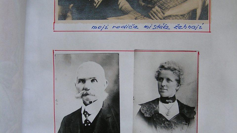 Antonín a Františka, rodiče Eduarda Marka