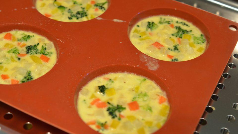 Jeden z pokrmů, které národní tým připravoval v rámci tréninku v NZM