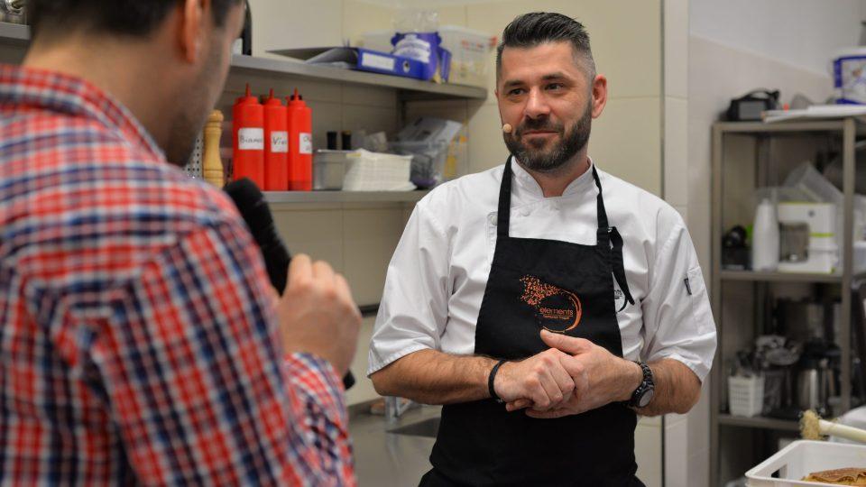 Šéfkuchař Radek Hasman