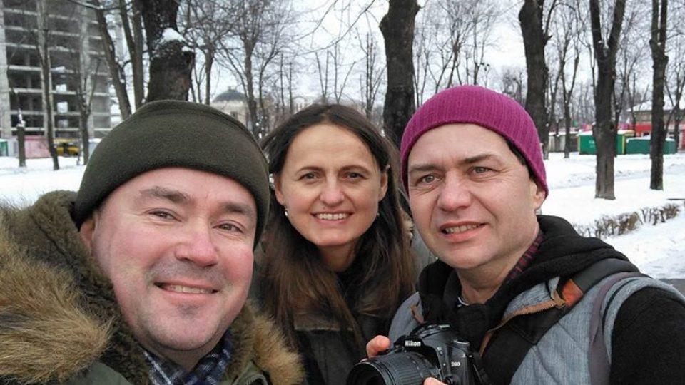 Andrij Švačko, Šárka Kuchtová a Tomáš Vlach