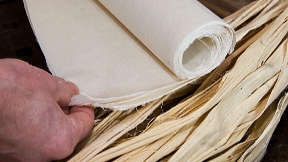 Lýko a hotový japonský papír