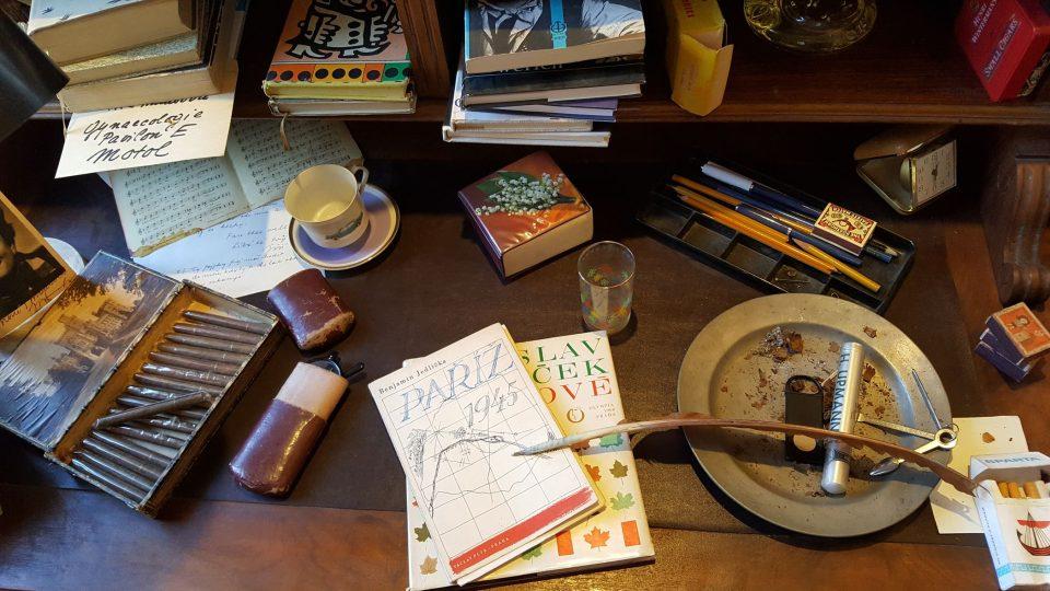 Werichův psací stůl