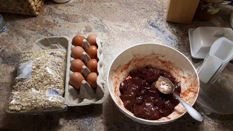 Ingredince na sušenky pro psa