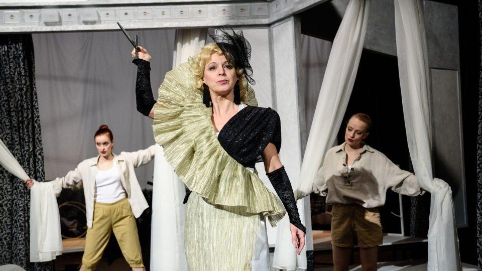 Komedie Pane, vy jste vdova! v Jihočeském divadle