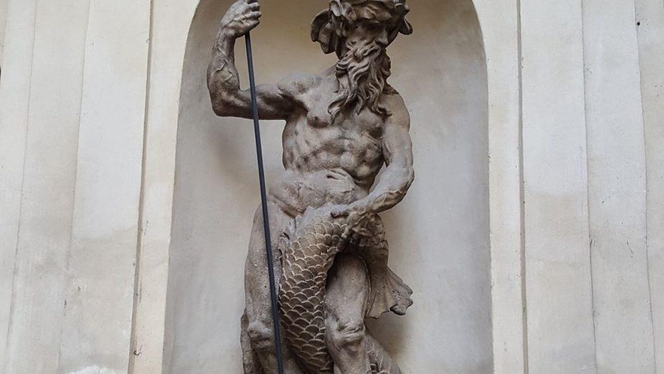 Kašna s Neptunem