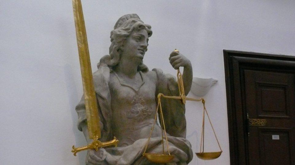 Spravedlnost v Českých Budějovicích není slepá