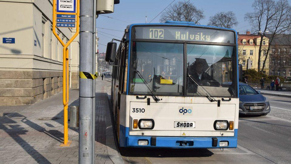 Kloubový trolejbus Škoda 15 Tr čísla 3510 bude součástí sbírek Kroužku přátel MHD