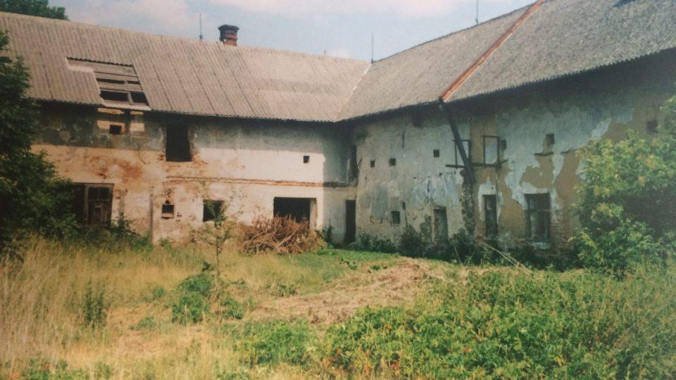 Historické snímky osady Simře