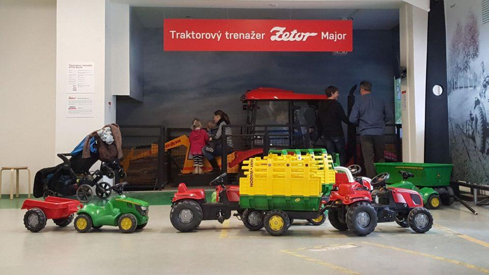 Malé stroje pro malé zemědělce