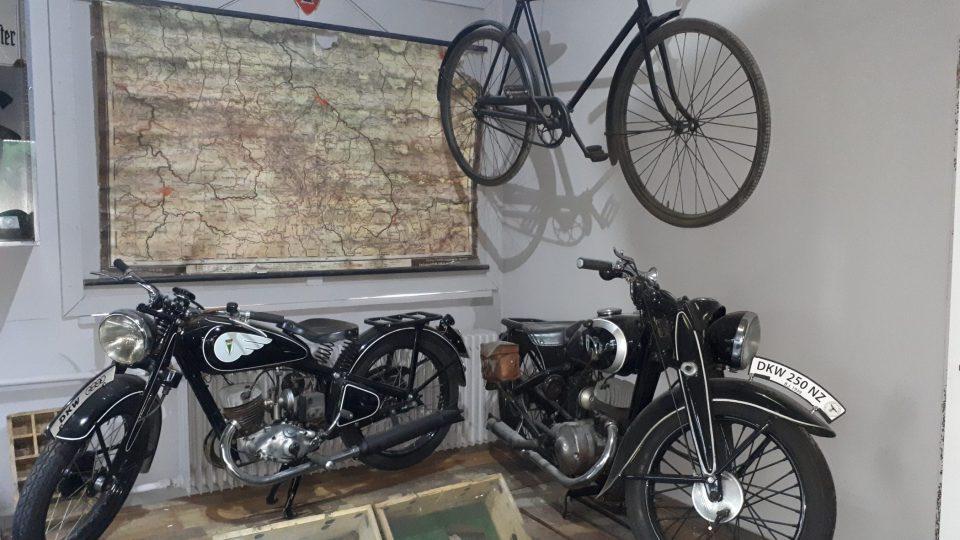 V muzeu zaplesá i srdce nejednoho milovníka motocyklů