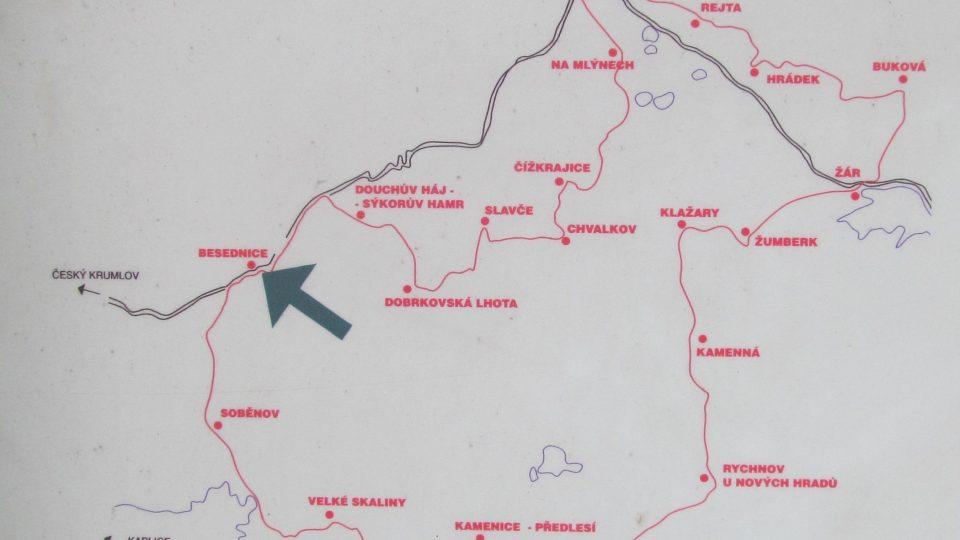 Stezka Pamětí Slepičích hor měří 47 kilometrů a má 17 zastávkových míst