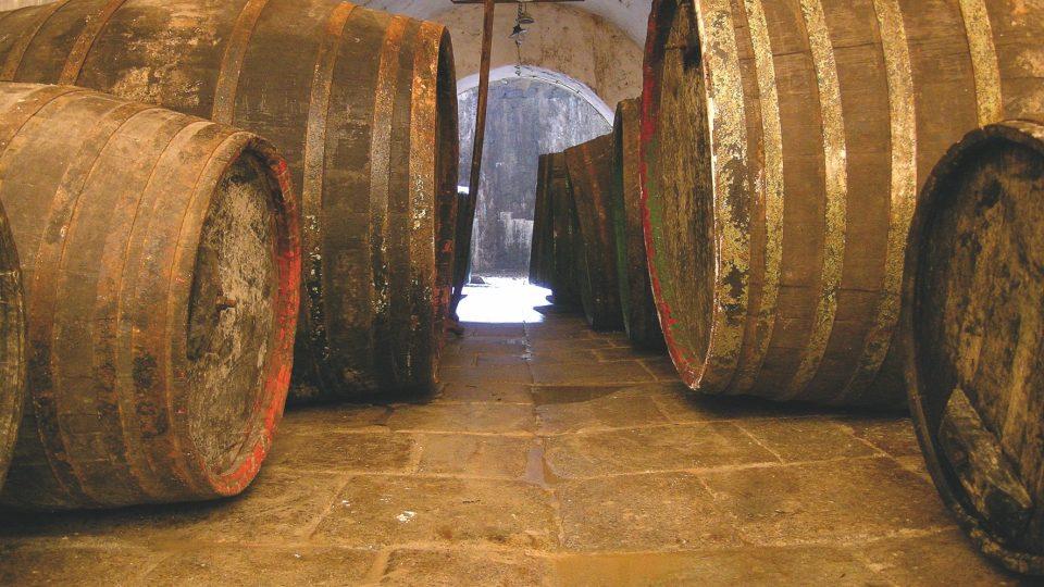 Původní pivní sudy