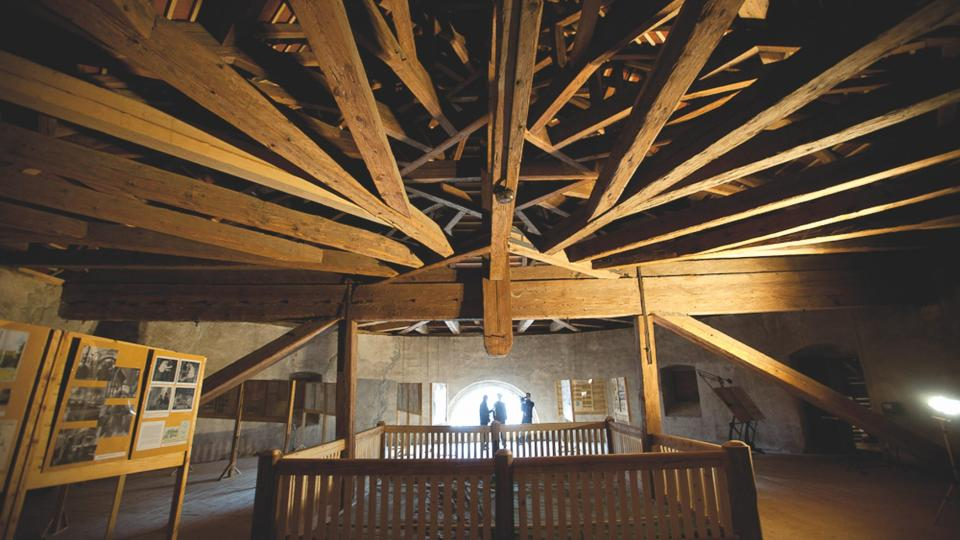 Trámy žentourového mlýna