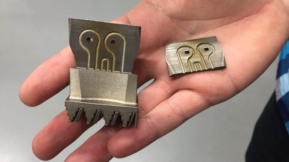 Příhradové struktury zhotovené na 3D tiskárně