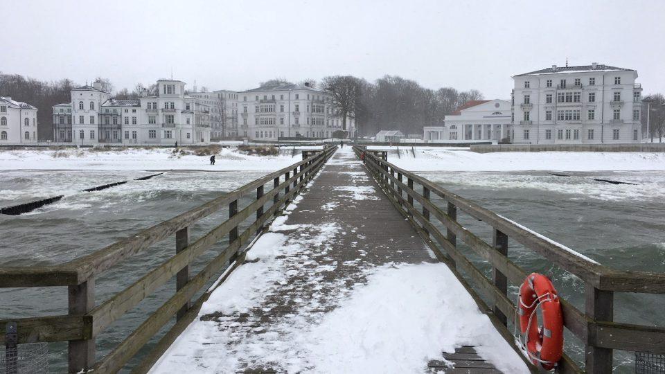 Historicky první přímořské lázně u Baltského moře vznikly v Heilligendammu na konci 18. století