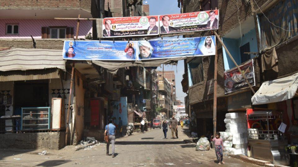 Popelářská čtvrť v Káhiře je charakteristická všudypřítomným zápachem