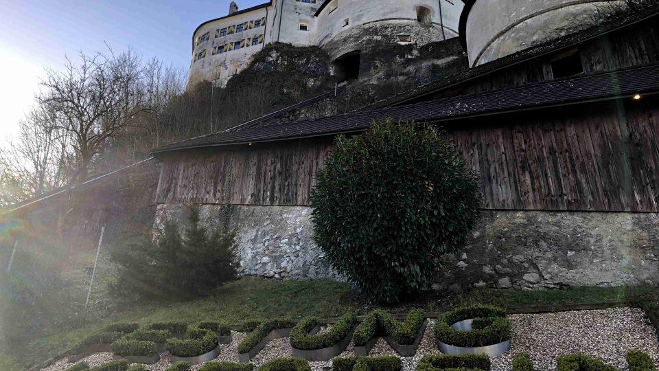 Pevnost Kufstein v Tyrolsku