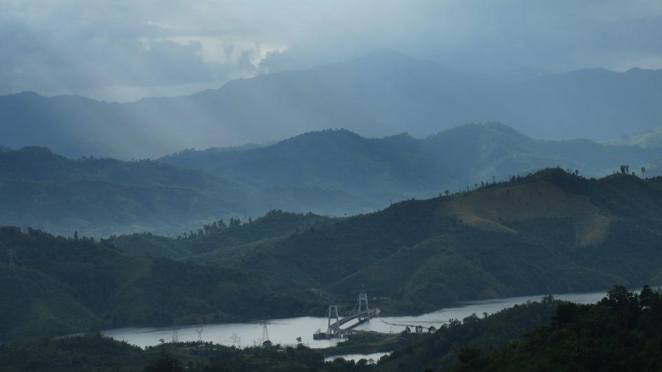 Údolí přehrady